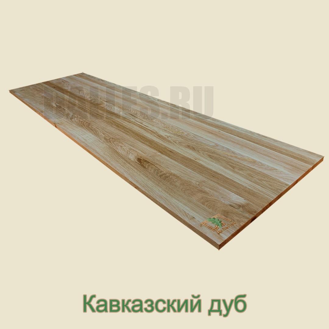 Мебельный щит цельно ламельный Дуб 40 мм
